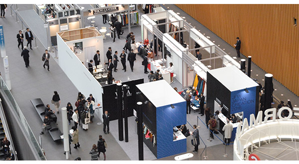 Fascia Board Exhibition Booth : Jfw japan creation